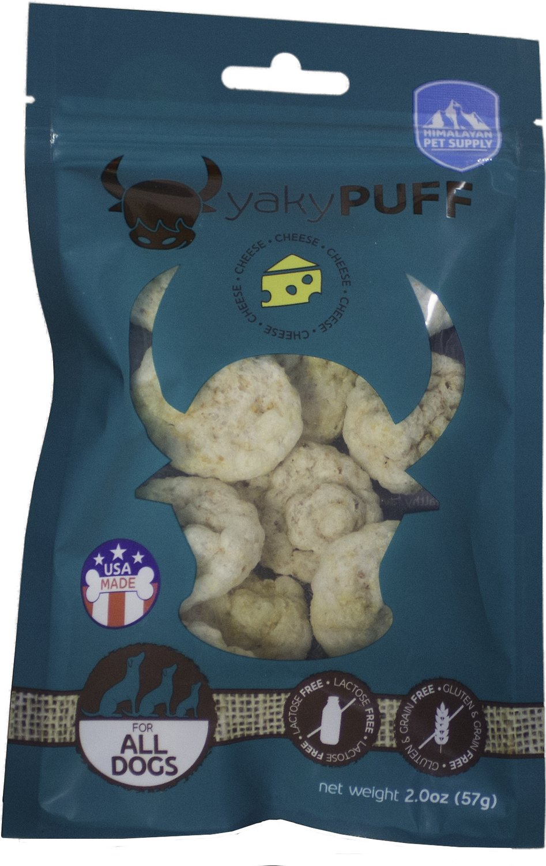 Himalayan Dog Chew Yaky Puff Himalayan Cheese Dog Treats, 2-oz bag