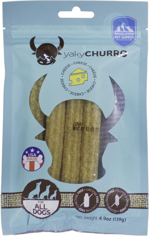 Himalayan Dog Chew Yaky Churro Himalayan Cheese Dog Treats, 4 count