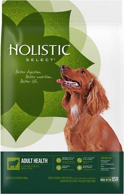 Holistic Select Adult Health Lamb Meal Recipe Dry Dog Food, 15-lb