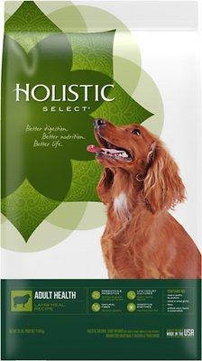 Holistic Select Adult Health Lamb Meal Recipe Dry Dog Food, 30-lb bag