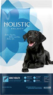 Holistic Select Adult Health Anchovy, Sardine & Salmon Meals Recipe Dry Dog Food, 30-lb bag