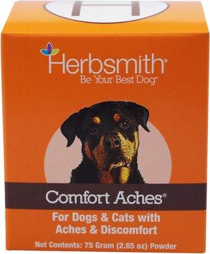 Herbsmith Herbal Blends Comfort Aches Powdered Dog & Cat Supplement, 75g jar