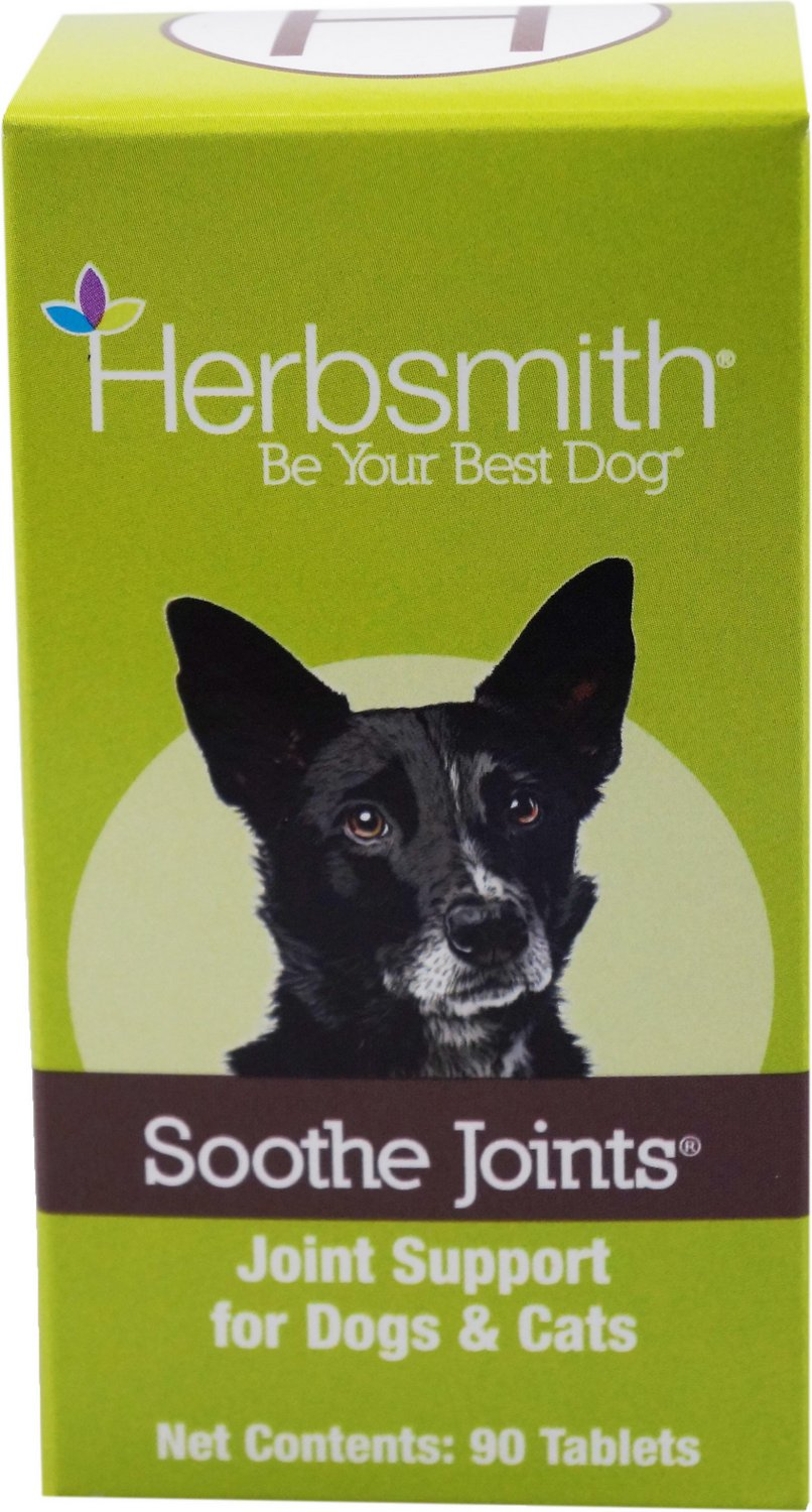 Herbsmith Herbal Blends Soothe Joints Tablets Dog & Cat Supplement
