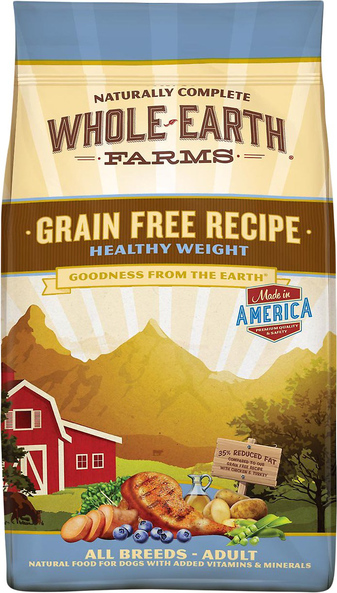 Whole Earth Farms Grain-Free Healthy Weight Dry Dog Food Image