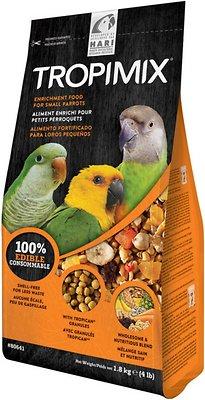 Hari Tropimix Enrichment Small Parrot Bird Food, 4-lb bag