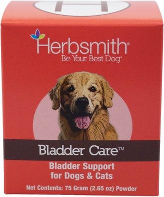 Herbsmith Herbal Blends Bladder Care Powdered Dog & Cat Supplement, 75g jar