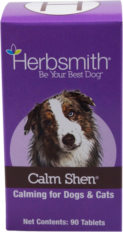 Herbsmith Herbal Blends Calm Shen Tablets Dog & Cat Supplement