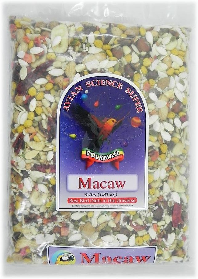 Volkman Avian Science Macaw Food, 4-lb bag Image