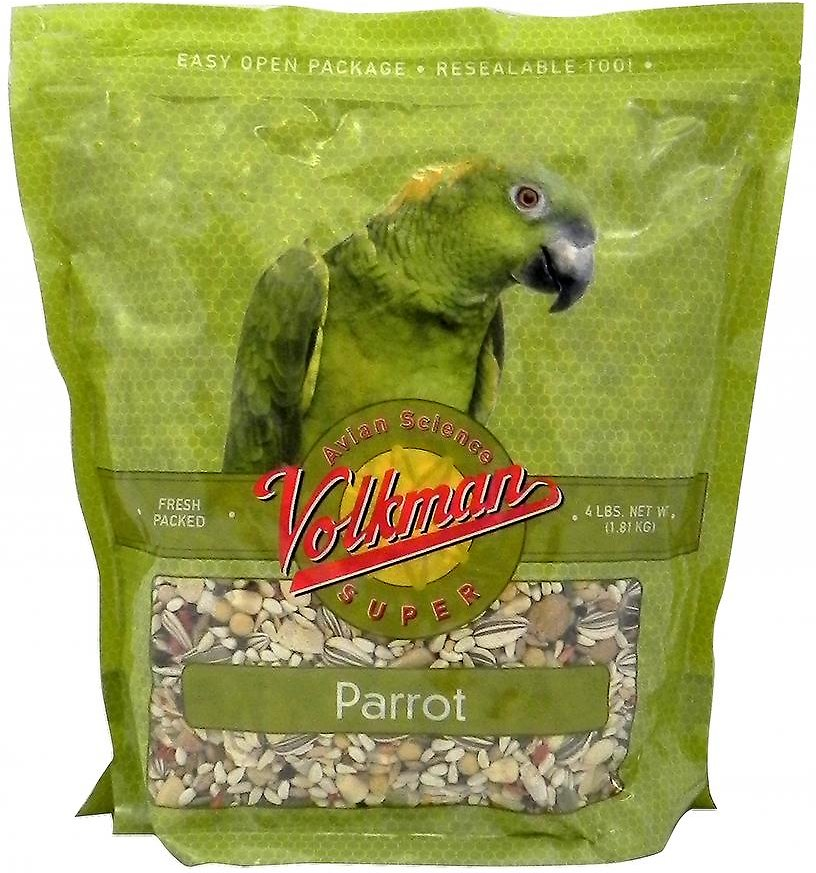 Volkman Avian Science Parrot Food, 4-lb bag Image