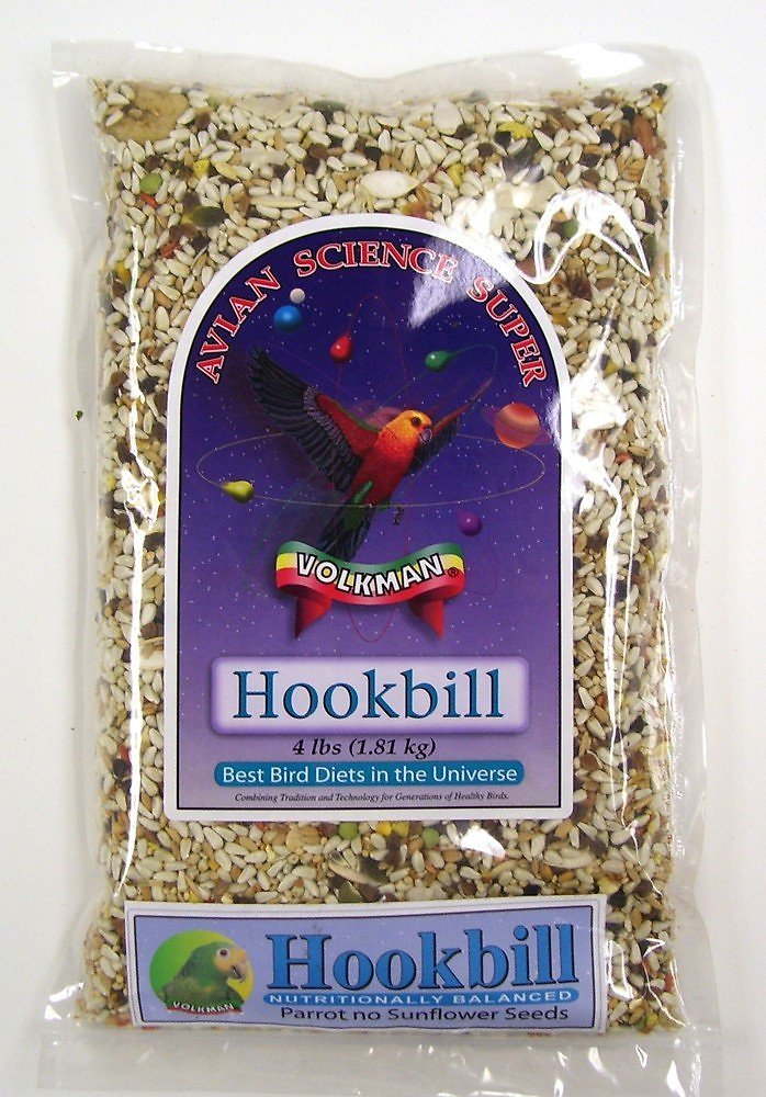 Volkman Avian Science Hookbill Food, 4-lb bag Image