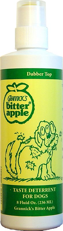 Grannick's Bitter Apple with Spray Bottle for Dogs, 8-oz bottle
