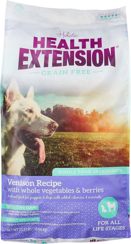 Health Extension Grain-Free Venison Recipe Dry Dog Food Image