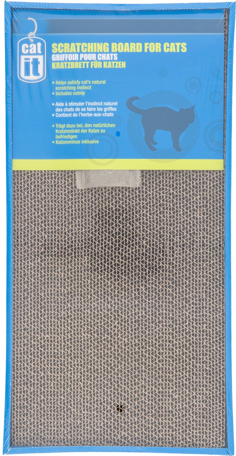 Catit Scratching Board with Catnip for Cats Image