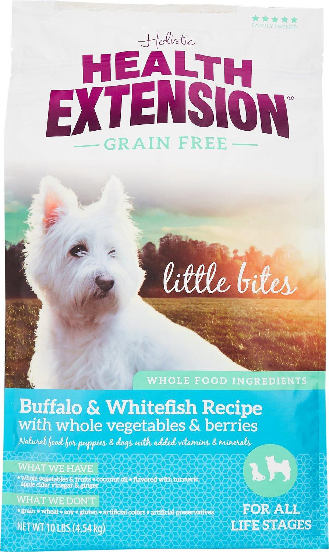 Health Extension Grain-Free Little Bites Buffalo & Whitefish Recipe Dry Dog Food Image
