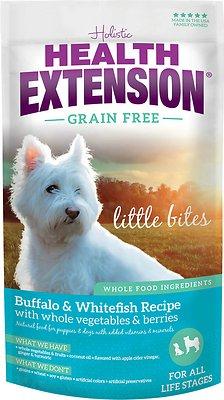 Health Extension Grain-Free Little Bites Buffalo & Whitefish Recipe Dry Dog Food, 23.5-lb