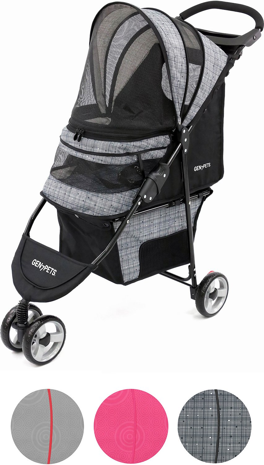 Gen7Pets Regal Plus Pet Stroller, Starry Night (Weights: 15.0pounds, Color: Starry Night) Image