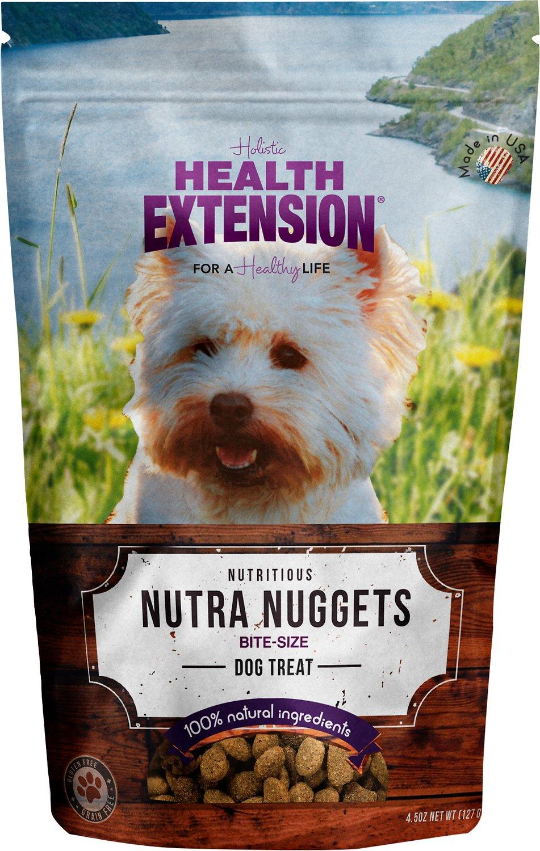 Health Extension Grain-Free Nutra Drops Nuggets Dog Treats, 4-oz
