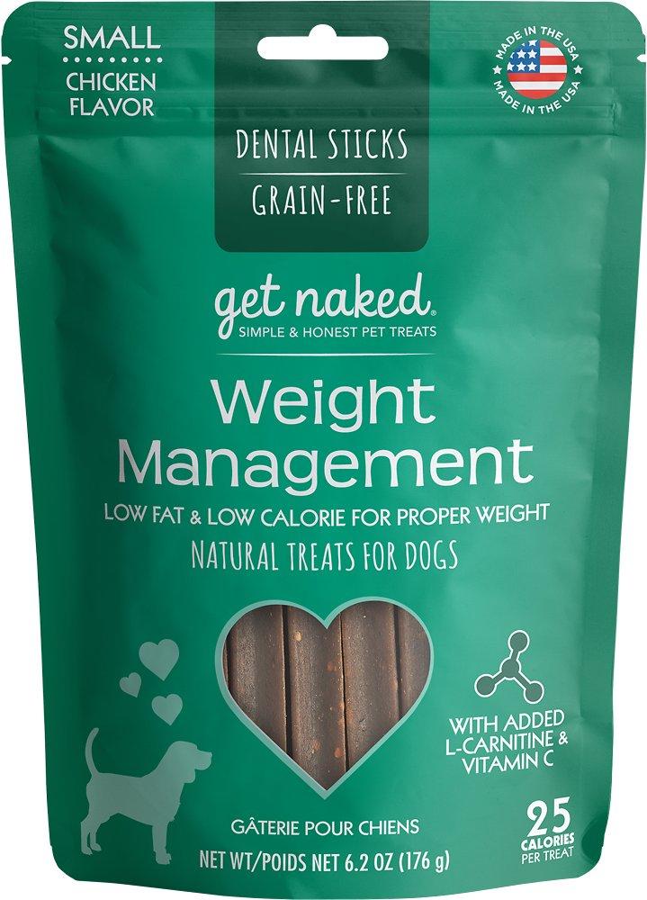 Get Naked Weight Management Dental Chew Sticks Grain-Free Dog Treats Image