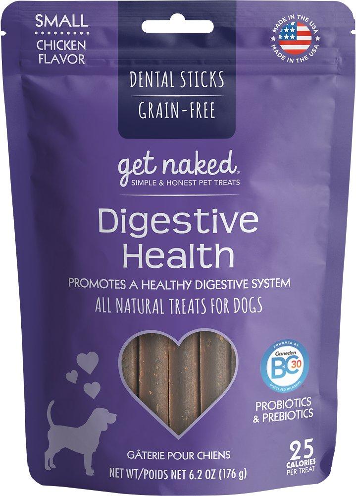 Get Naked Digestive Health Dental Chew Sticks Dog Treats Image