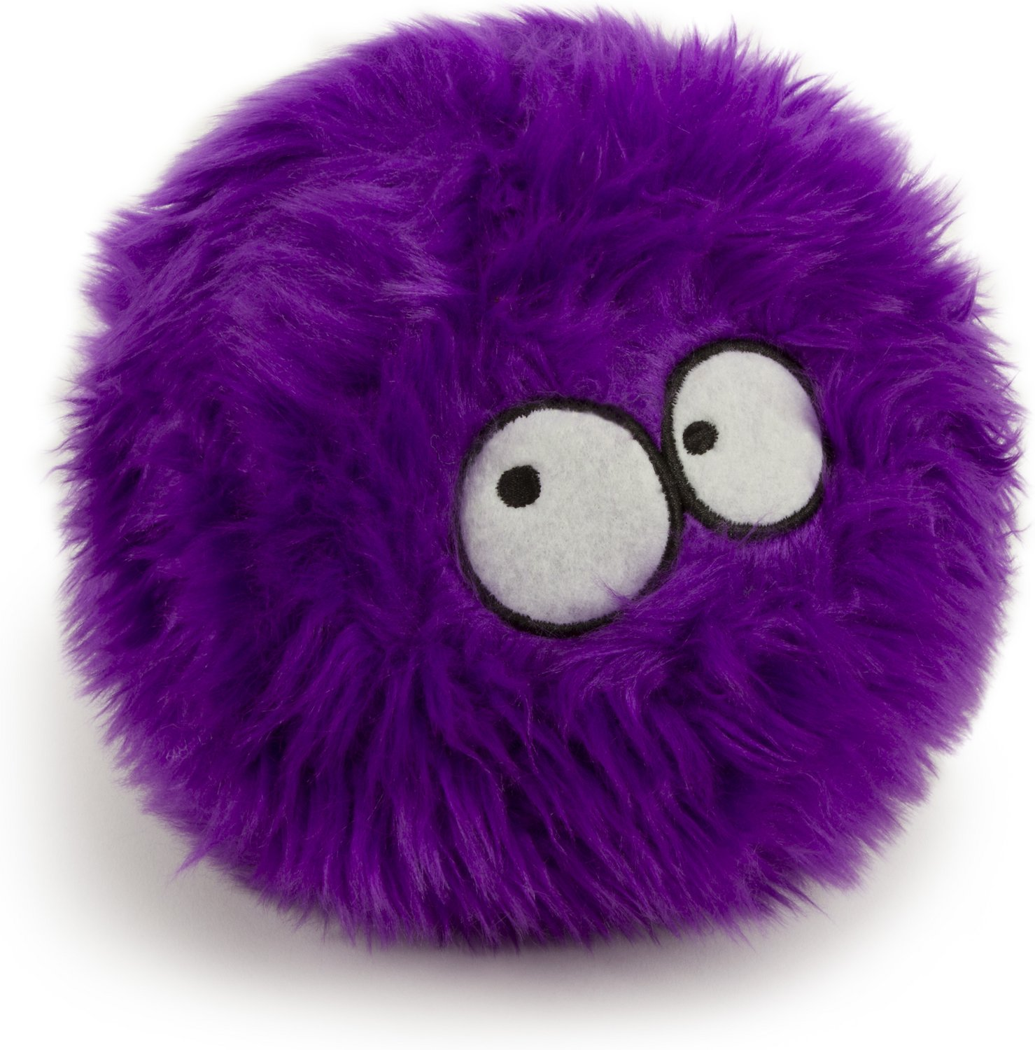 GoDog Furballz Chew Guard Dog Toy, Purple Image