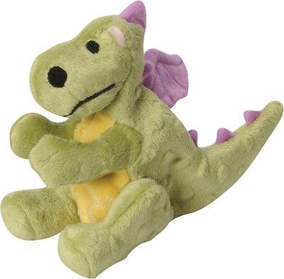 GoDog Dragons Chew Guard Dog Toy, Lime Green, Small