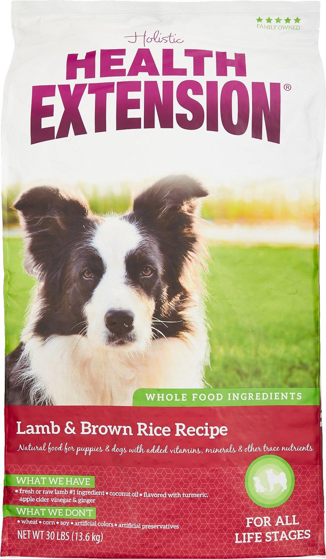 Health Extension Lamb & Brown Rice Dry Dog Food Image