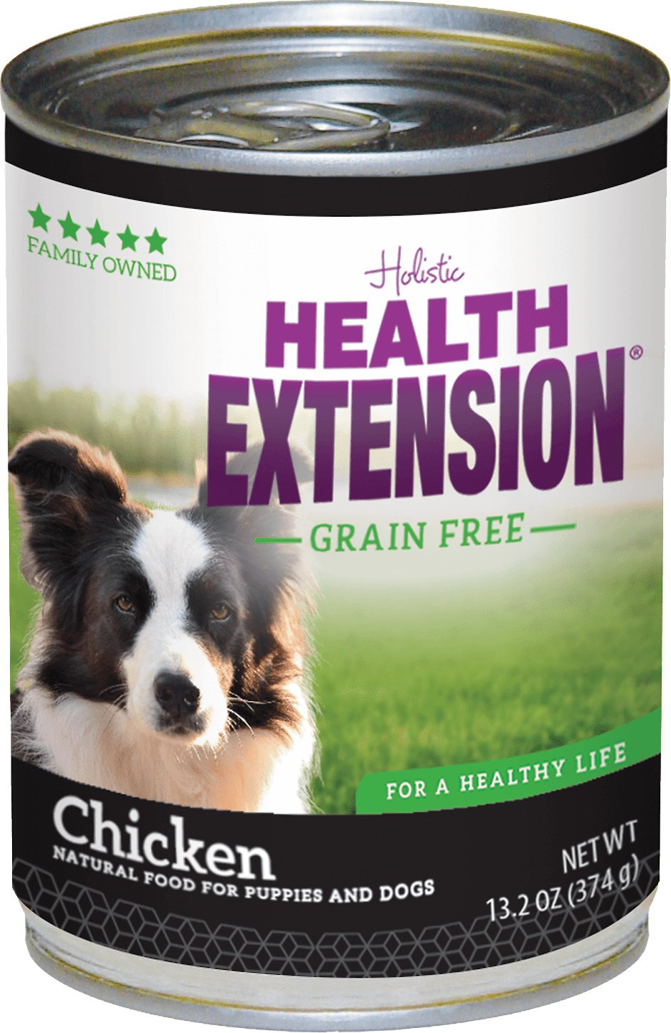 Health Extension Grain-Free Chicken Canned Dog Food, 13.2-oz