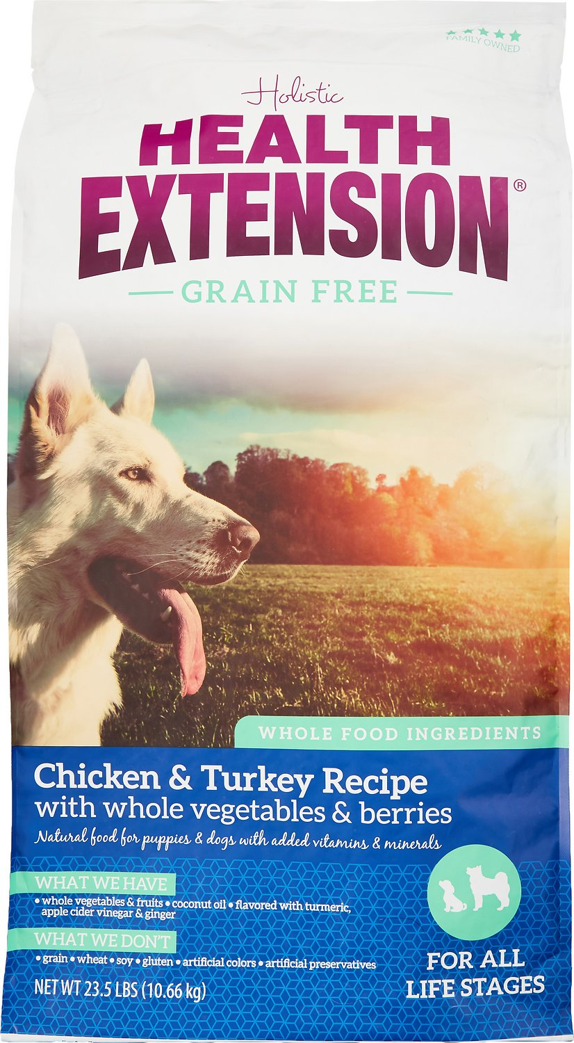 Health Extension Grain-Free Chicken & Turkey Recipe Dry Dog Food Image
