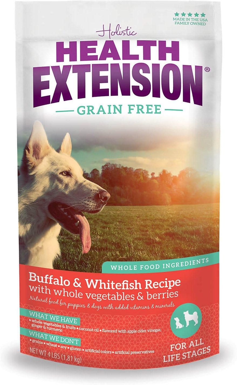 Health Extension Grain-Free Buffalo, Whitefish & Chickpea Formula Dry Dog Food Image