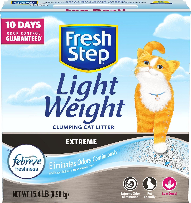 Fresh Step Lightweight Extreme Cat Litter, 15.4-lb Box
