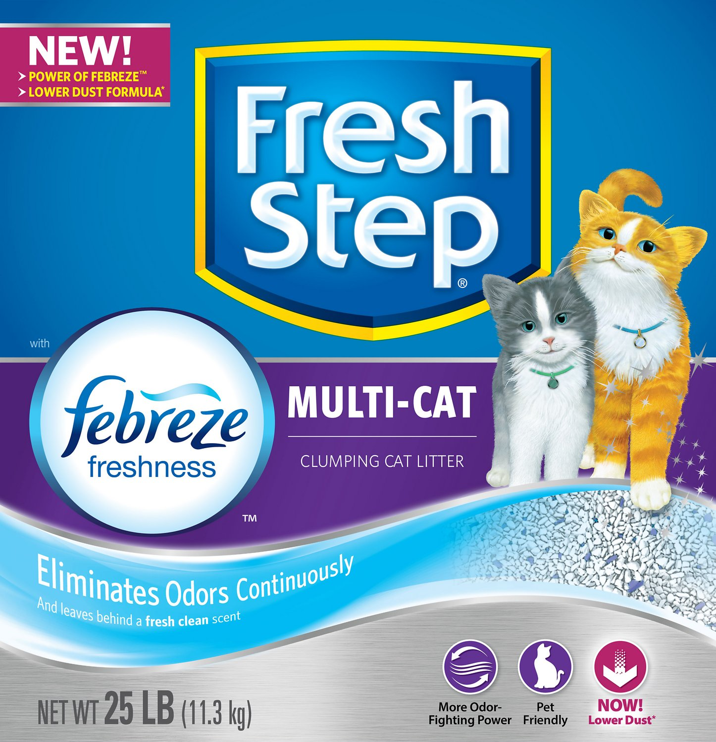 Fresh Step Multiple Cat Scoopable Clumping Cat Litter Image
