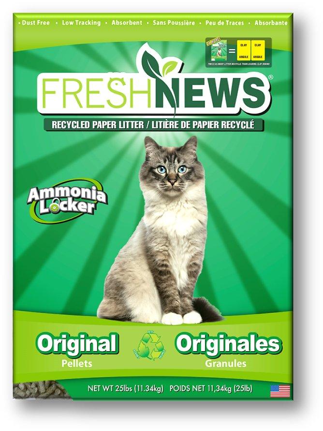 Fresh News Cat Litter Image