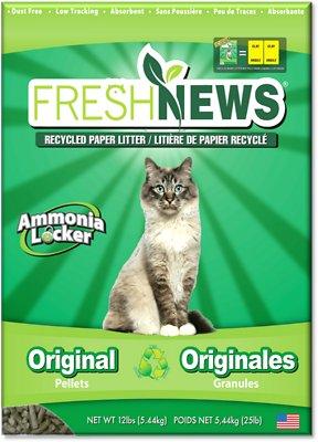 Fresh News Cat Litter, 12-lb bag