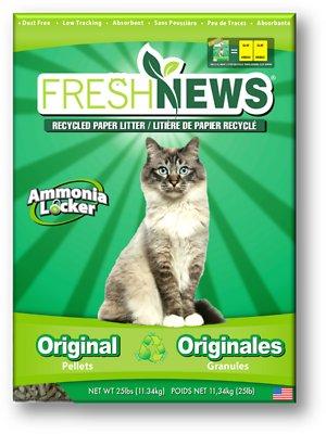 Fresh News Cat Litter, 25-lb bag