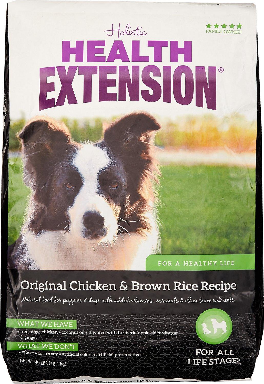 Health Extension Original Chicken & Brown Rice Recipe Dry Dog Food Image