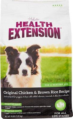 Health Extension Original Chicken & Brown Rice Recipe Dry Dog Food, 4-lb