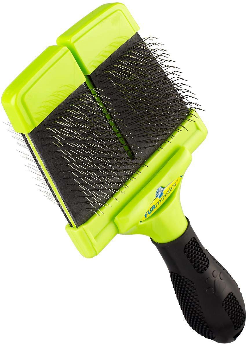 FURminator Soft Slicker Brush For Dogs Image