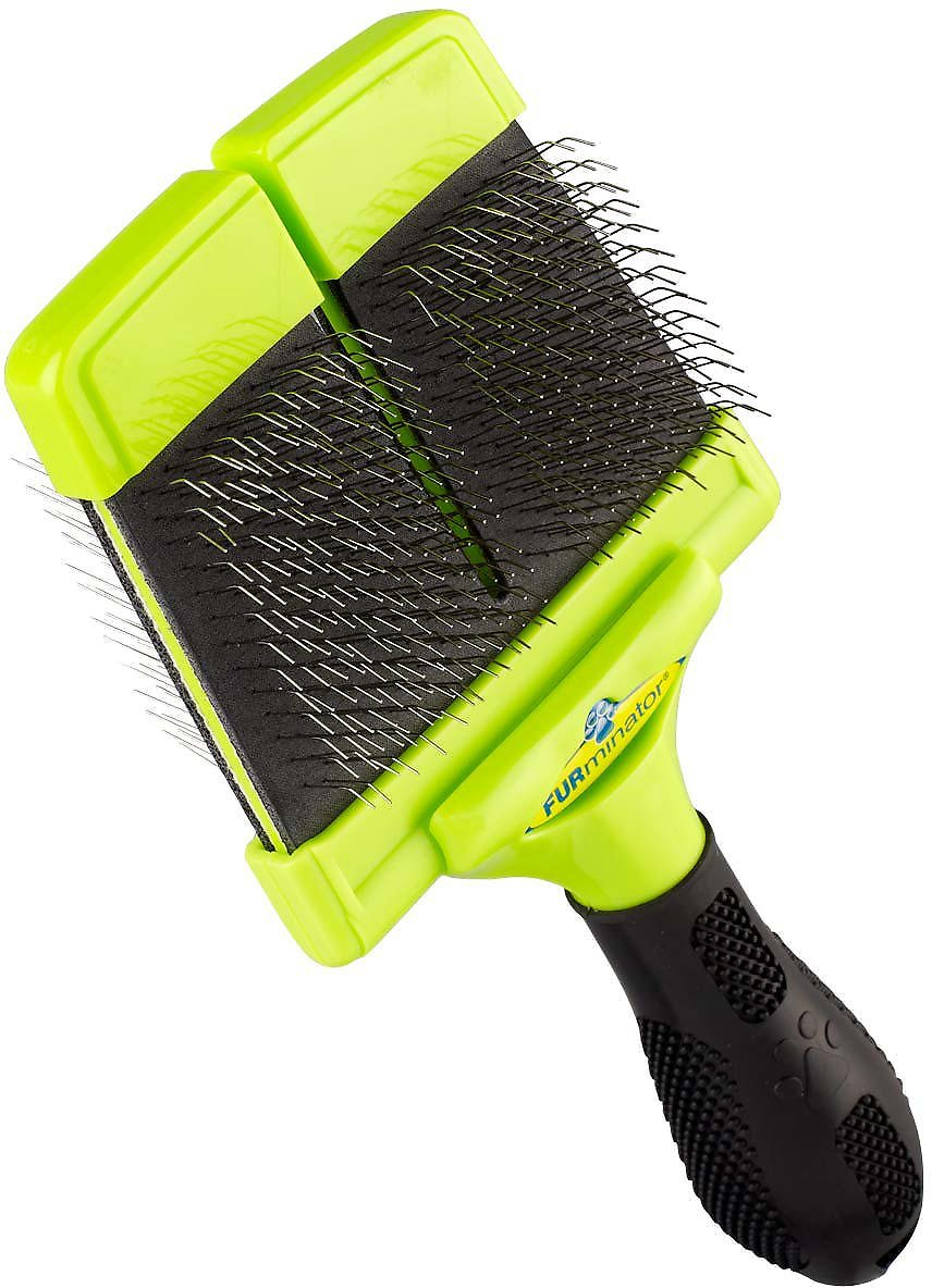 FURminator Firm Slicker Brush For Dogs Image