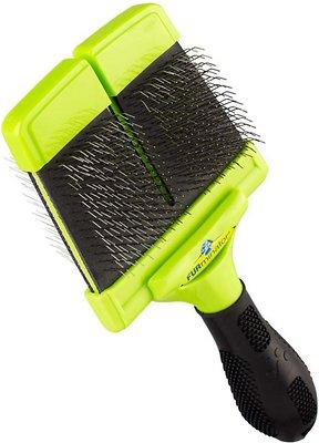 FURminator Firm Slicker Brush For Dogs, Large