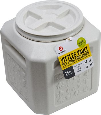 Gamma2 Vittles Vault Pet Food Storage, 25-lb