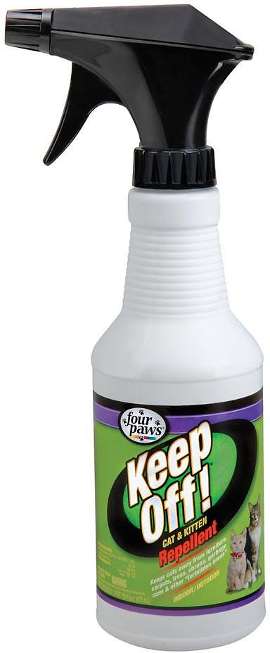 Four Paws Keep Off! Repellent Cat & Kitten Spray, 16-oz bottle Image