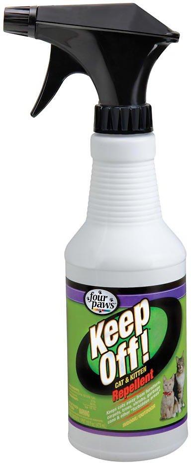 Four Paws Keep Off! Repellent Cat & Kitten Spray, 16-oz bottle