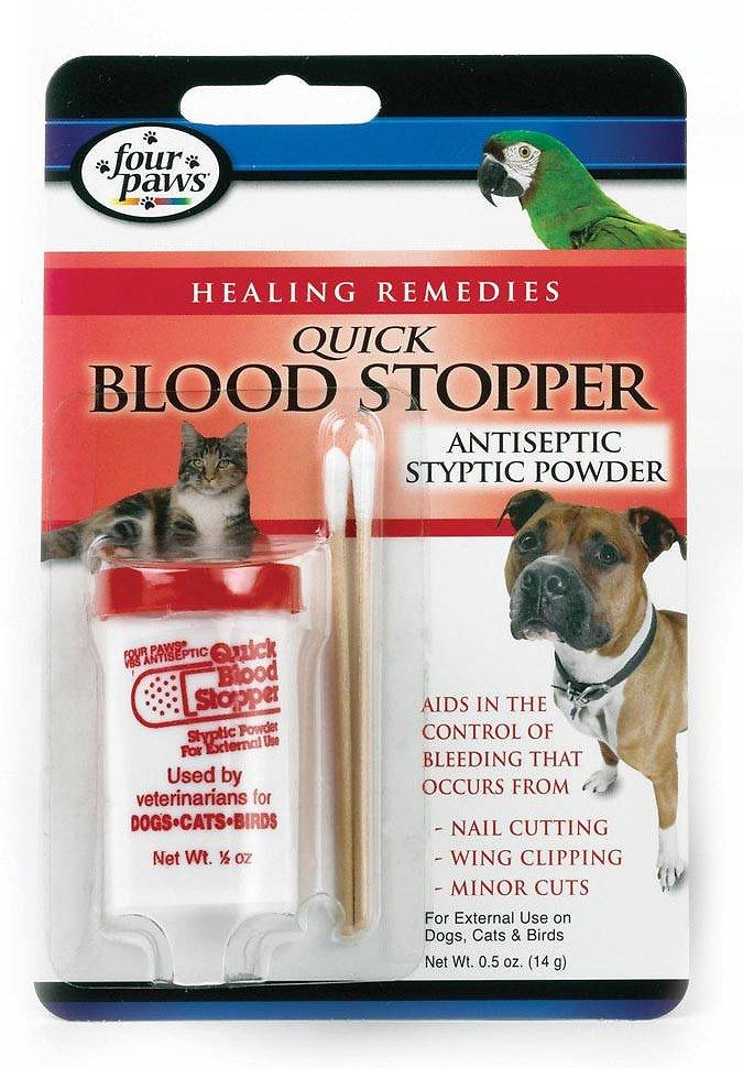 Four Paws Quick Blood Stopper Powder, 0.5-oz bottle