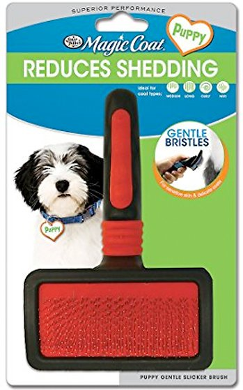 Four Paws Magic Coat Gentle Slicker Brush Image
