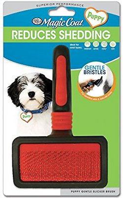 Four Paws Magic Coat Gentle Slicker Brush, Puppy