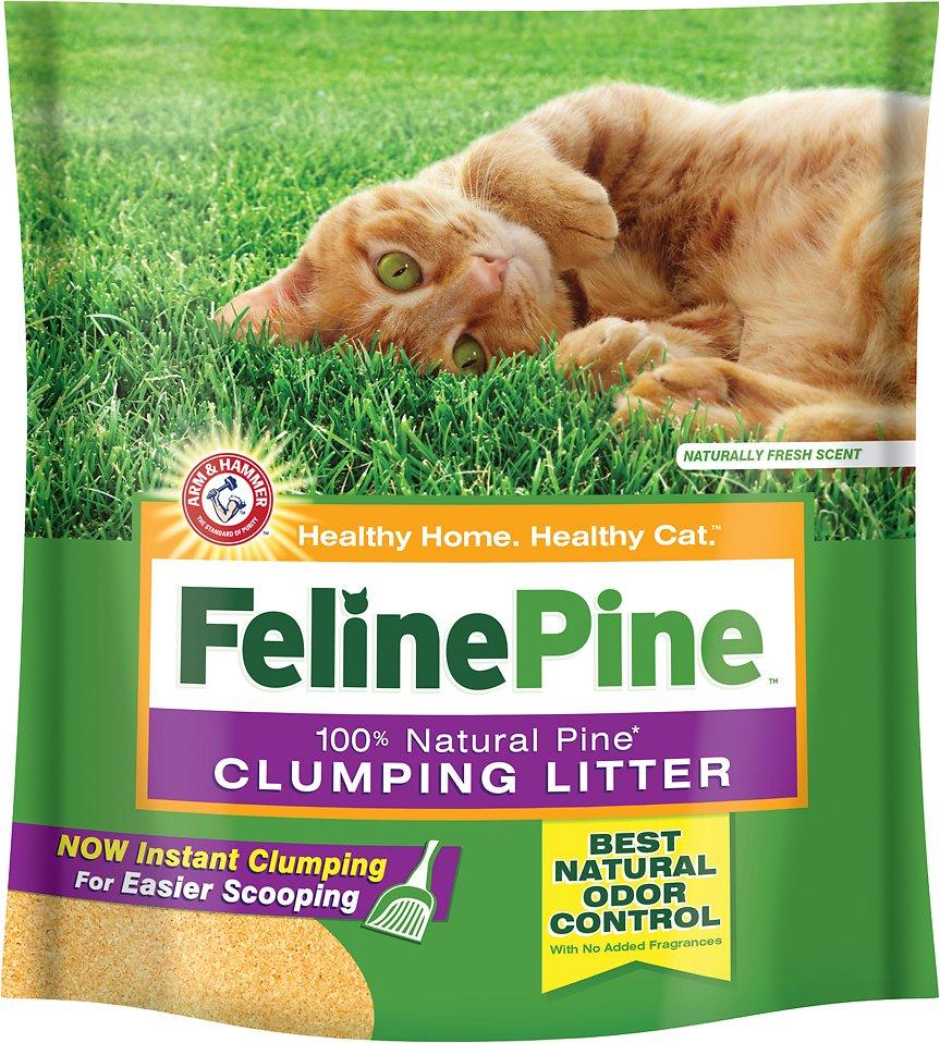 Feline Pine Scoop Clumping Cat Litter Image