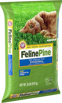 Feline Pine Original Cat Litter, 20-lb