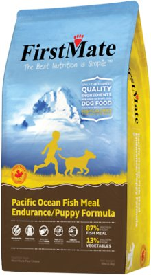 FirstMate Endurance/Puppy Pacific Ocean Fish Meal Limited Ingredient Diet Grain-Free Dry Dog Food, 5-lb