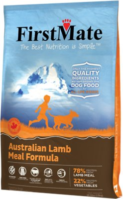 FirstMate Australian Lamb Meal Limited Ingredient Diet Grain-Free Dry Dog Food, 28.6-lb