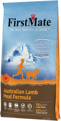 FirstMate Australian Lamb Meal Limited Ingredient Diet Grain-Free Dry Dog Food, 14.5-lb